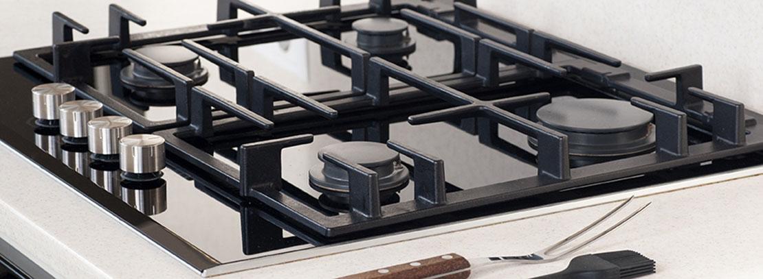 smaltatura piani cottura acciaio inox